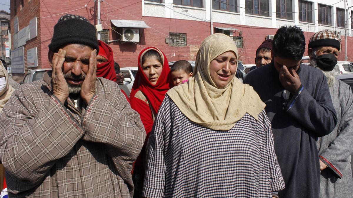 Family members of youth arrested in Jammu seek LG, Police intervention to get son released