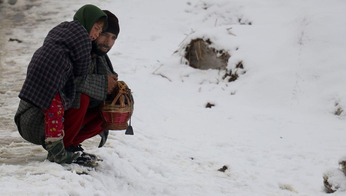 Minimum temperature rises above freezing point after 55 days in Srinagar