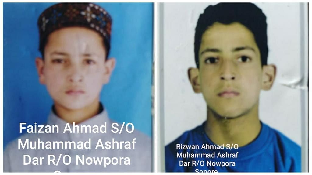 Two minor brothers go missing from home in north Kashmir's Sopore