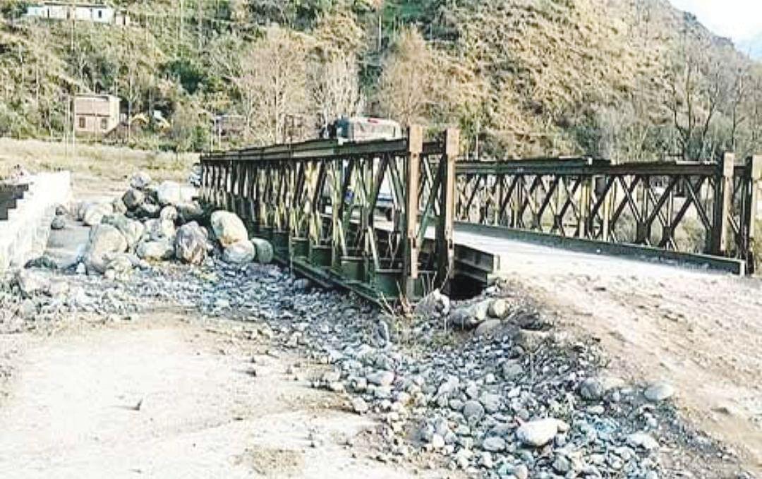 Damaged during 2014 floods, Drungli Nallah bridge awaits repair