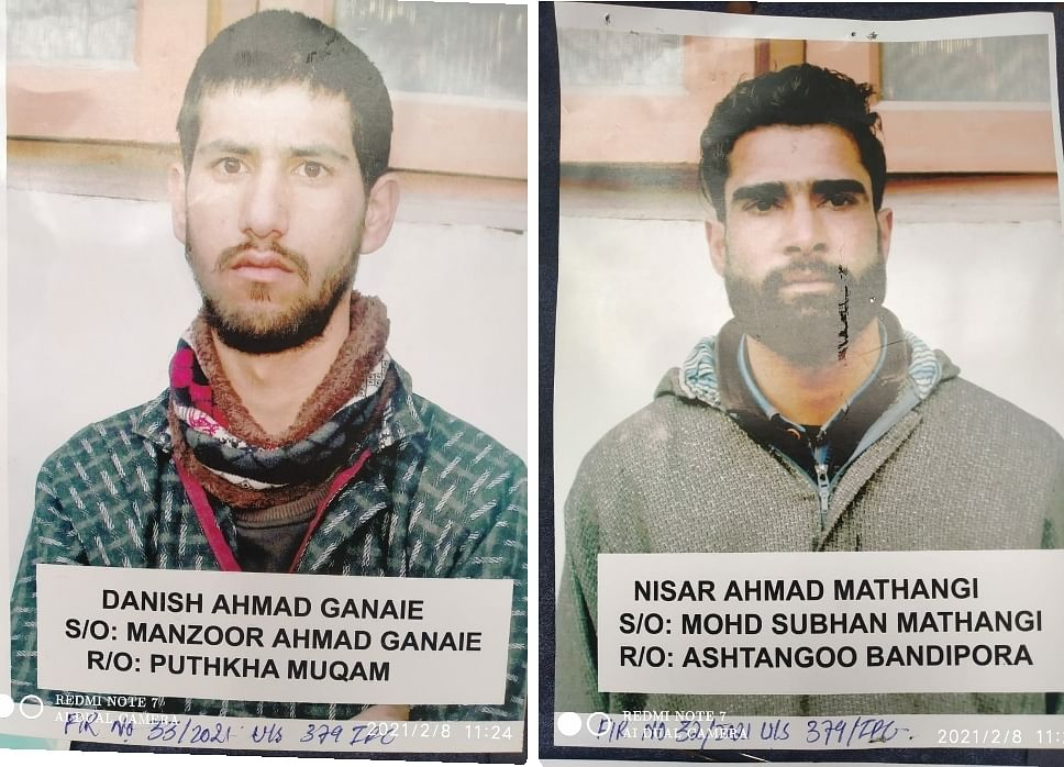 Pick pocket gang busted, three arrested in north Kashmir's Sopore