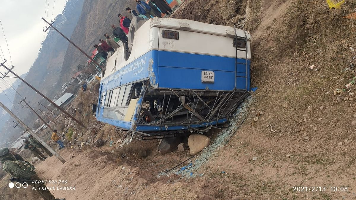 Three CISF personnel injured in accident in north Kashmir's Uri