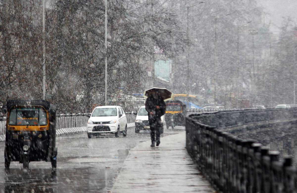 MeT forecasts rains, snow in Jammu and Kashmir on Sunday