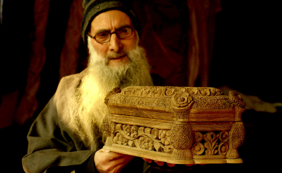 In Pictures: The Ace Woodcarver and his Intricate Designs