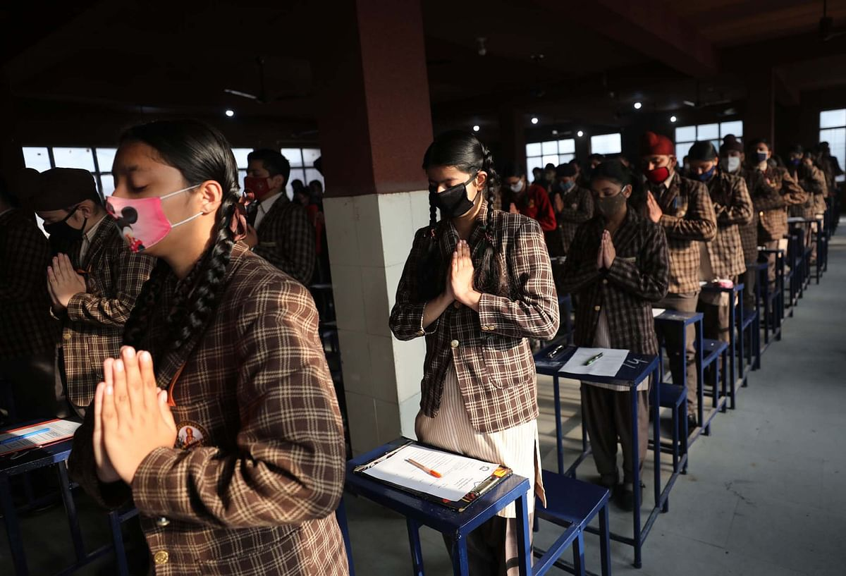 In Pictures: Schools Reopen in Jammu After Ten Months of COVID-19 Lockdown