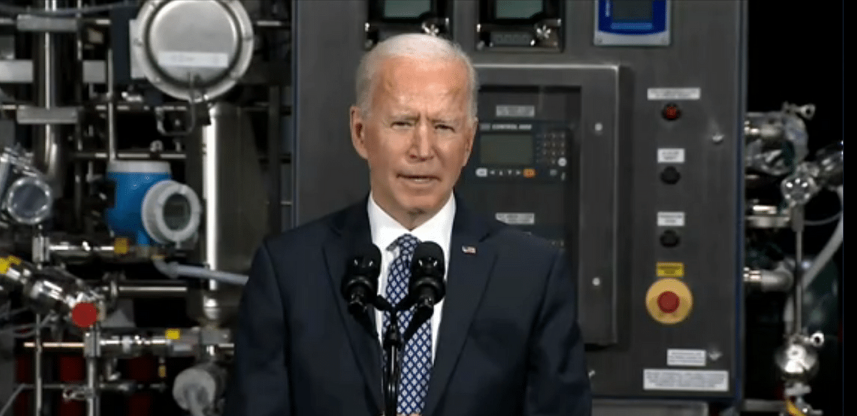Biden believes US will be approaching normalcy by end of this year