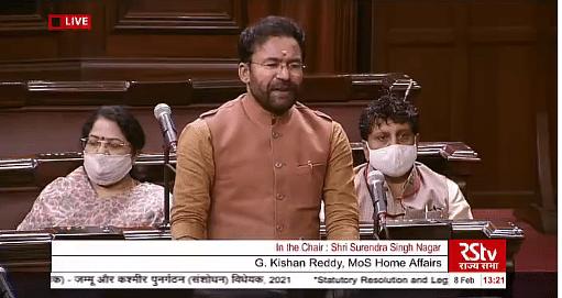 No civilian was privy to Article 370 abrogation move: Govt to Rajya Sabha