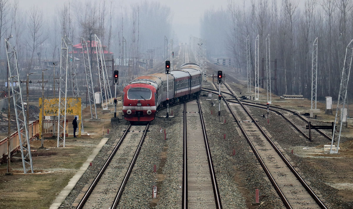In Pictures: Kashmir Train First Time After Covid-19 Lockdown
