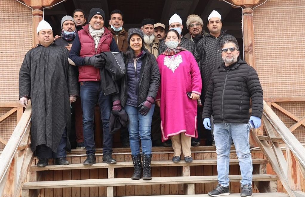 Celebrity chef and cookery show host Sanjeev Kapoor is all praise for Kashmir's winter produce