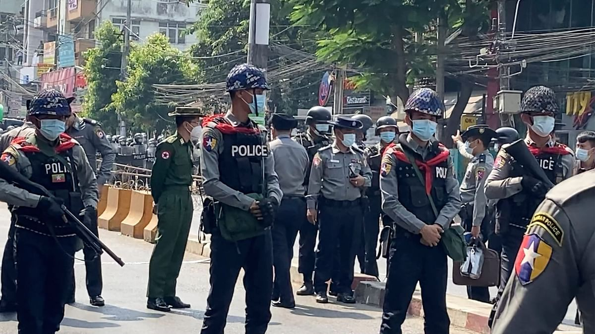 Myanmar goes to Military