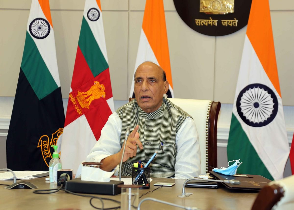 Disengagement pact mandates China to move troops to Finger 8 from Finger 4 in Pangong area: Rajnath