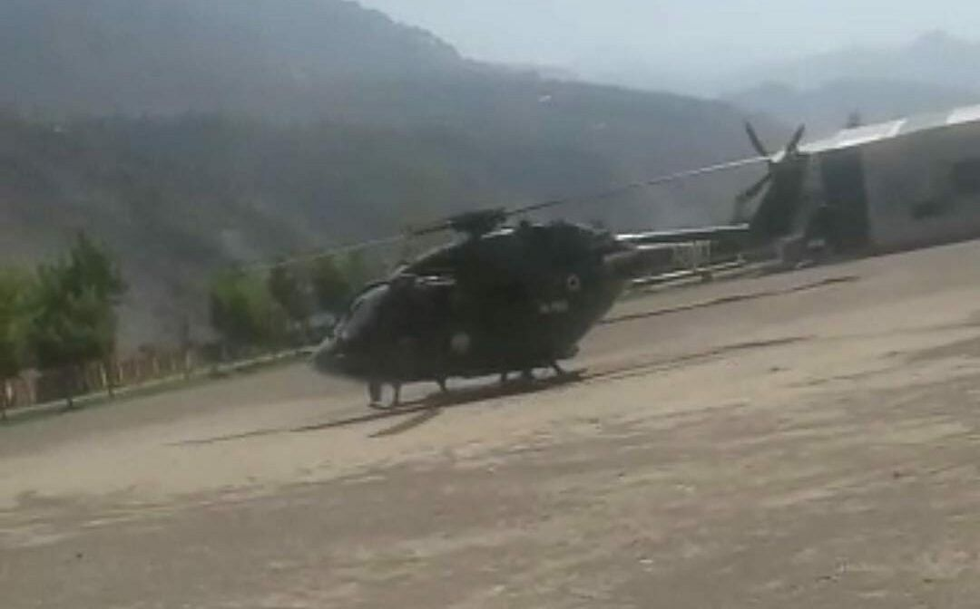 Army helicopter with patient onboard forced to make emergency landing in J&K's Ramban
