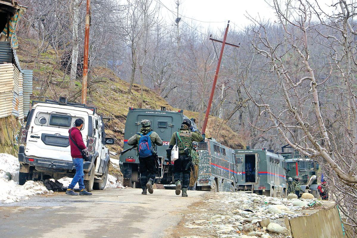 Militant killed in Shopian gunfight