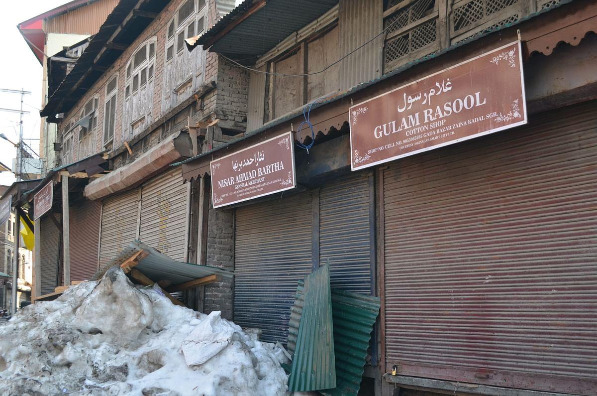 Once Kashmir's trade epicentre, historic Maharaj Gunj market in ruins