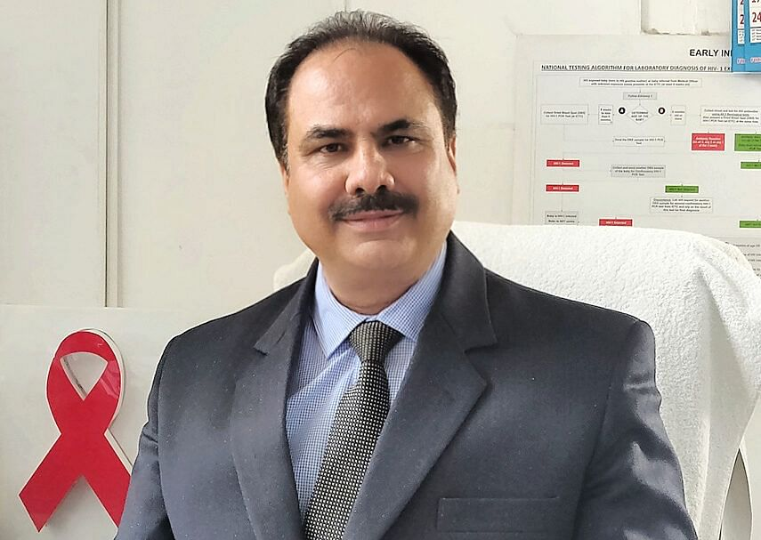 Dr Mushtaq A Rather is Director Health Services Kashmir