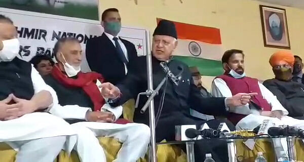 Farooq shares stage with Congress, JKNPP, Dogra leaders; fuels speculations about united front against BJP