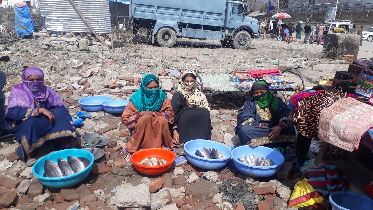 Fisherwomen struggle hard to keep families going