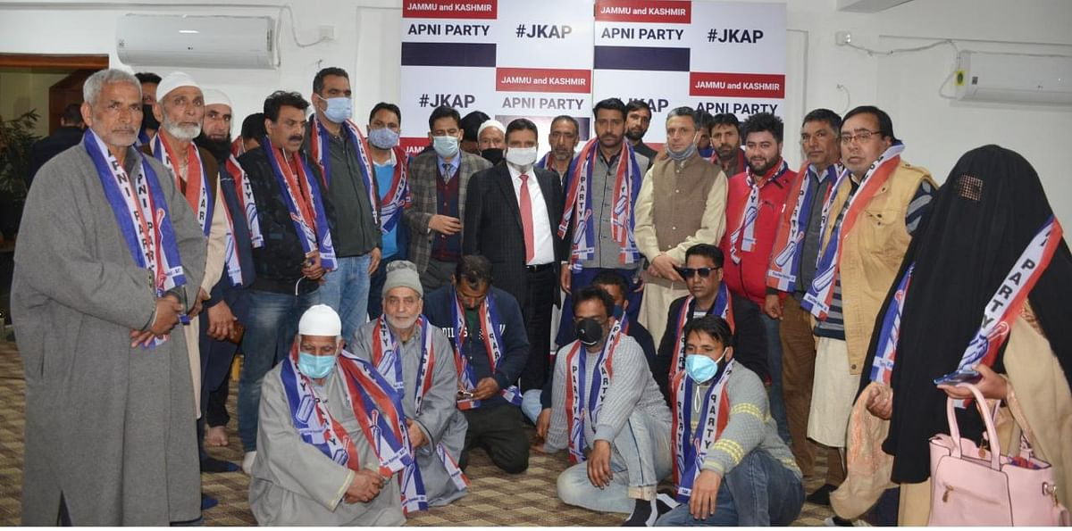 Ex-Congress leader from Anantnag Hilal Shah joins Apni Party