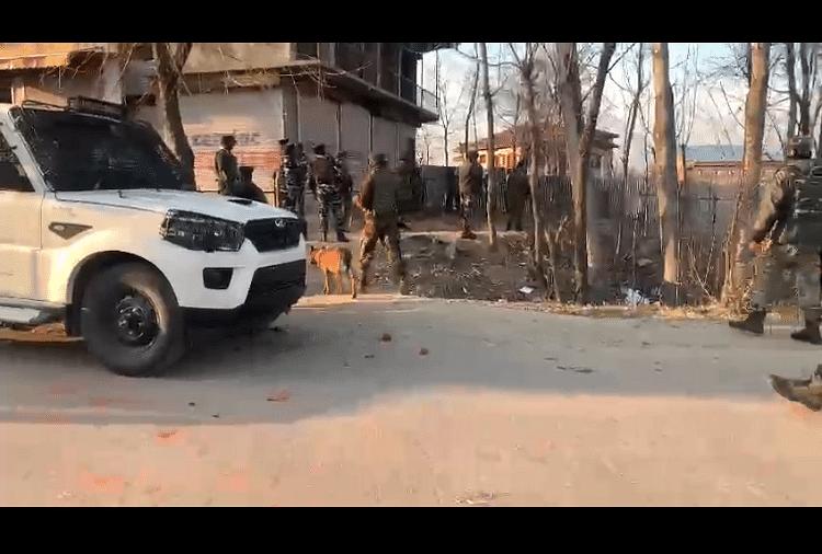 IED blast in Pulwama