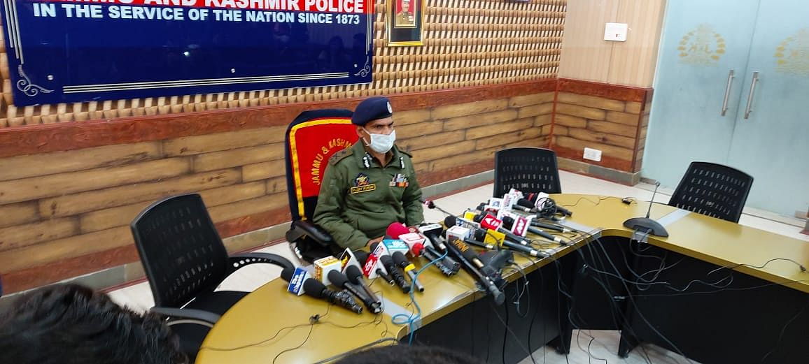 Jaish, LeT modules planning two major IED attacks in south Kashmir busted: IGP Vijay Kumar
