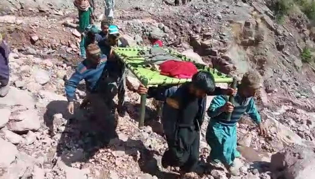 With approach road blocked by landslides, woman dies on way to hospital in north Kashmir's Uri
