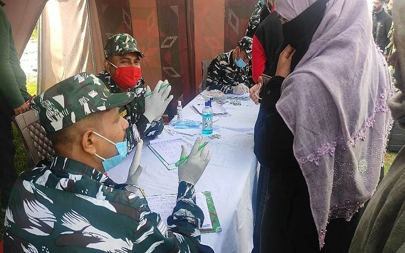 CRPF organises free medical camp in Sopore