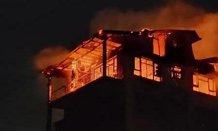 Midnight blaze partially damages two hotels at tourist resort Pahalgam