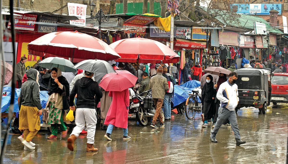 Another spell of rain, snow likely in J&K