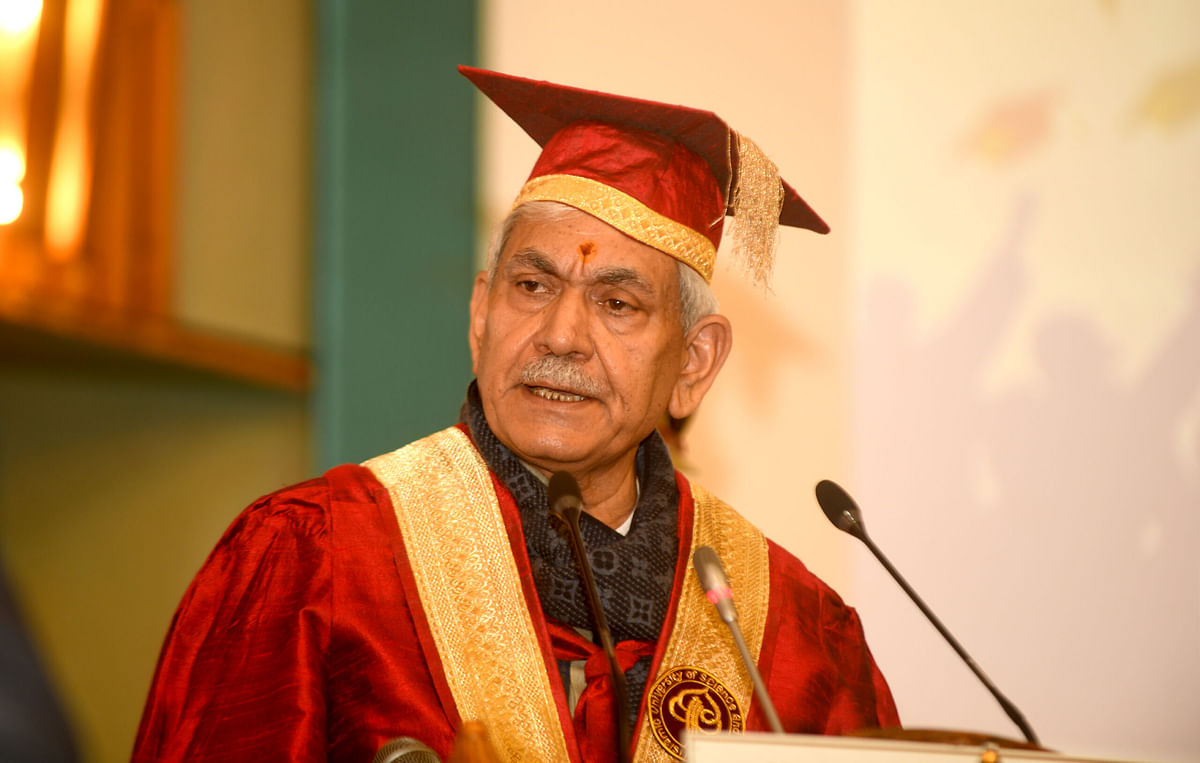 At 12%, J&K's spending on education probably highest in India: LG Sinha