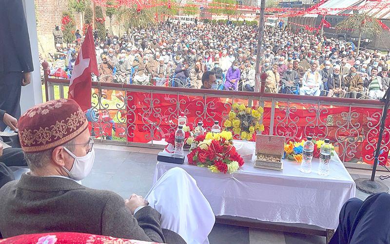 Indo-Pak friendship key to lasting peace in J&K: Omar Abdullah