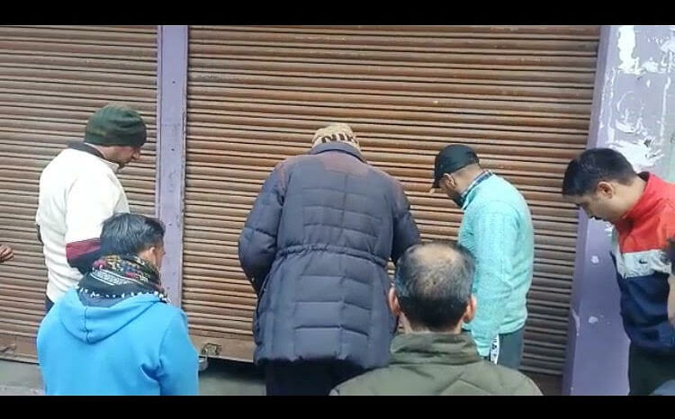 Burglars decamp with goods, cash worth lakhs from four shops in J&K's Poonch