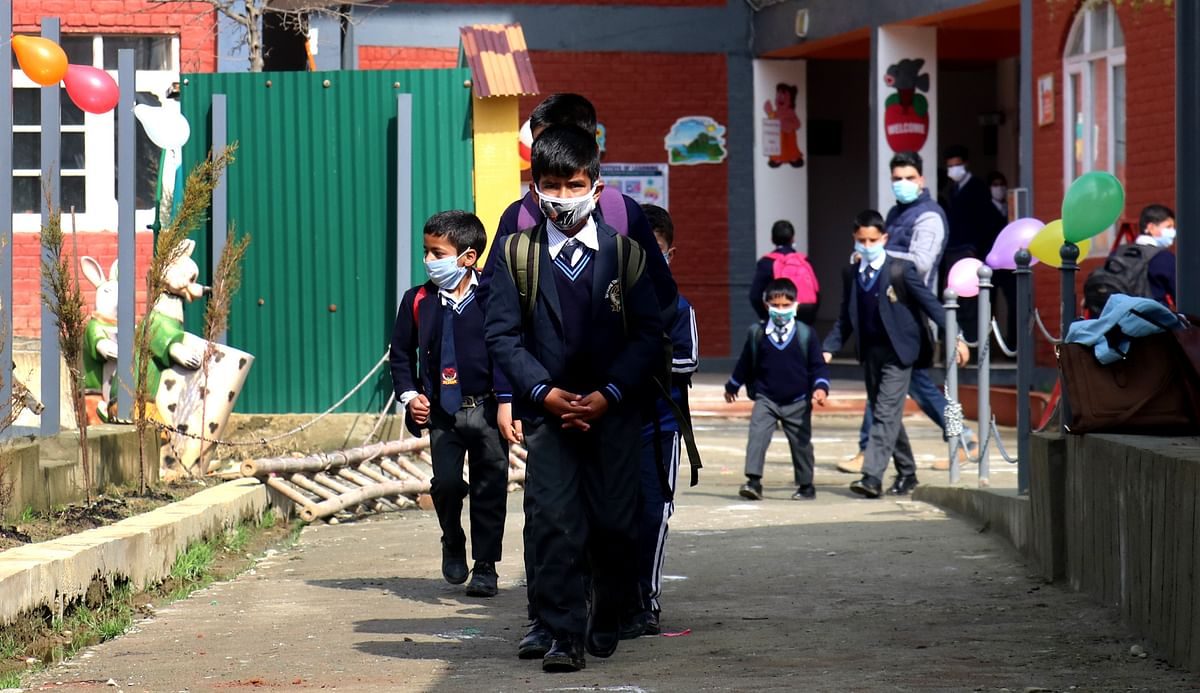 Teaching staff in J&K to work from home as COVID-19 cases surge