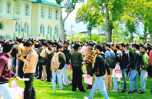 Cap on admissions in Degree Colleges and its consequences