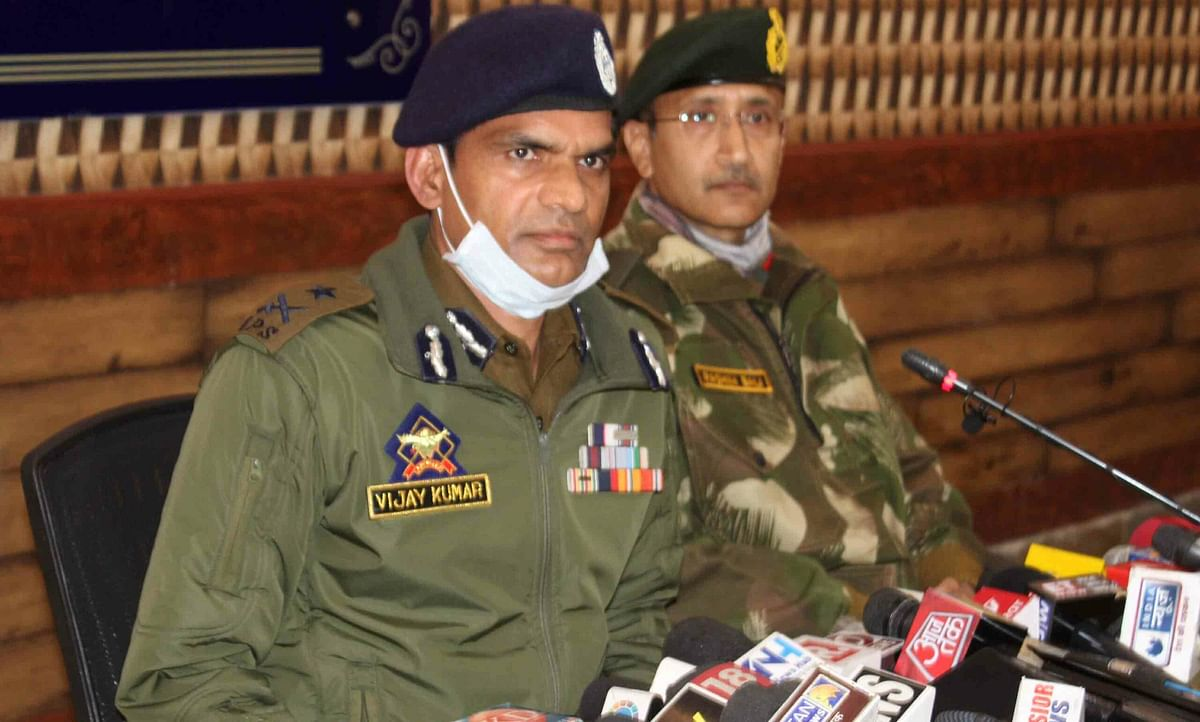 Stone pelting larger issue than militancy: IGP
