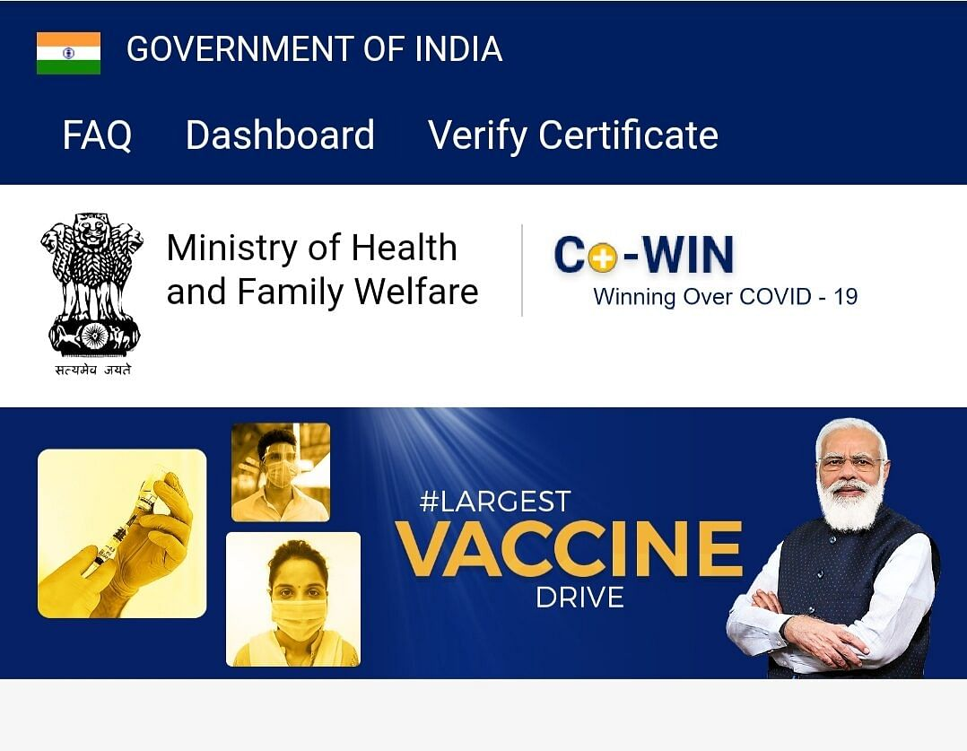 CoWIN website crashes, hits vax registration for 18+