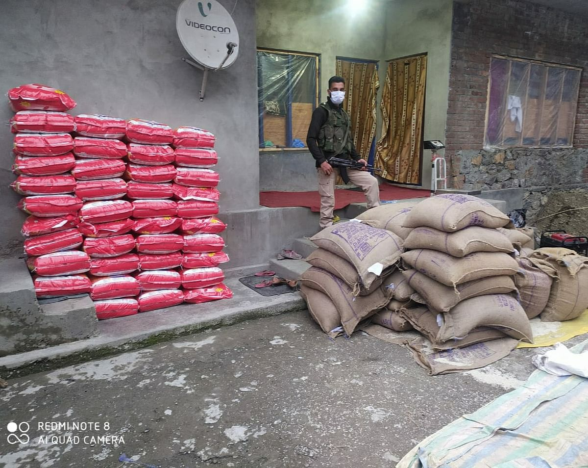 Police seizes 26 quintal Govt rice in Bandipora