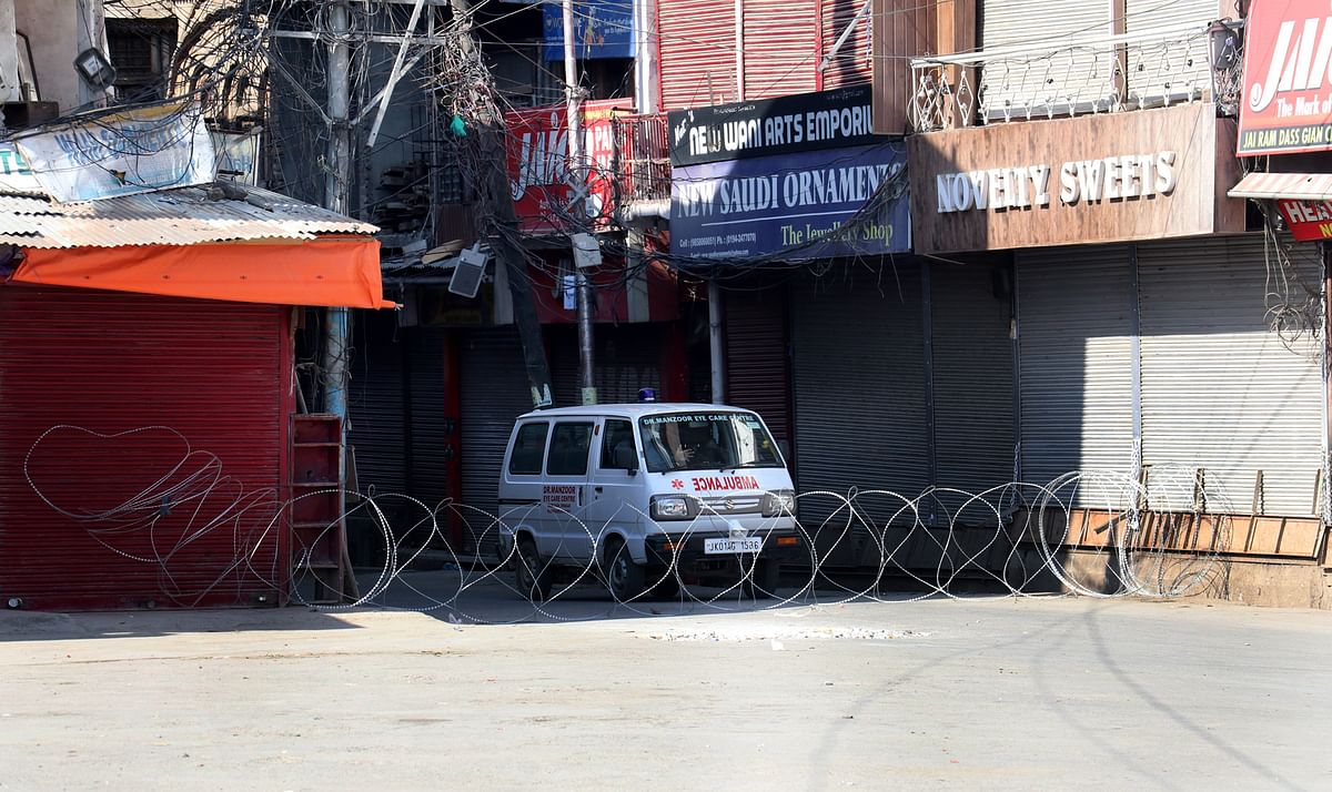 COVID-19 lockdown extended to all J&K districts