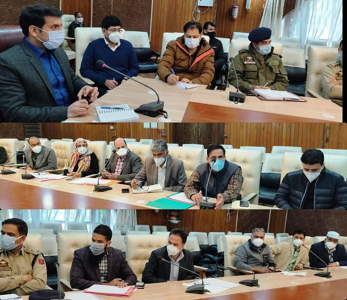 DC Srinagar reviews availability of Medical Oxygen in city hospitals