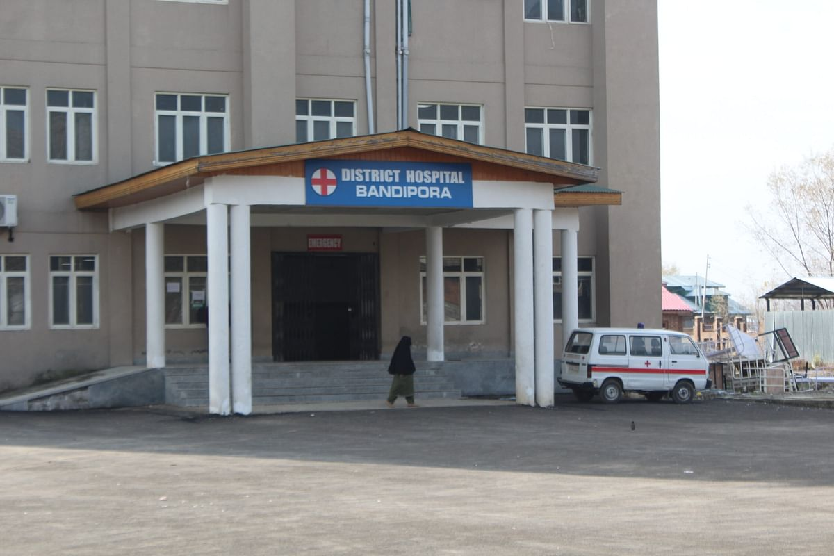 Facilities crumble at DH Bandipora within 3 months of functioning