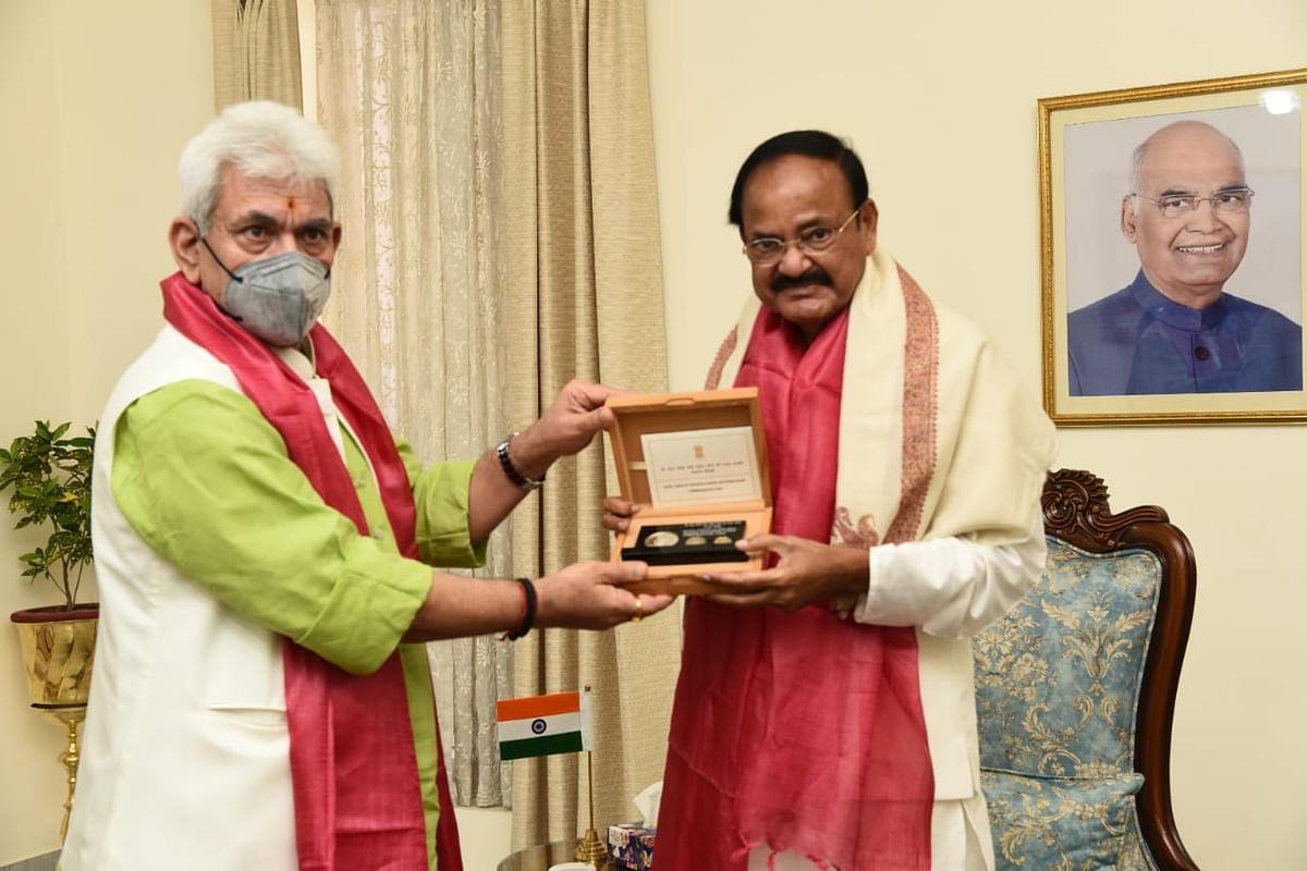 J&K integral part of country; India doesn't need unsolicited advice: Vice President Naidu