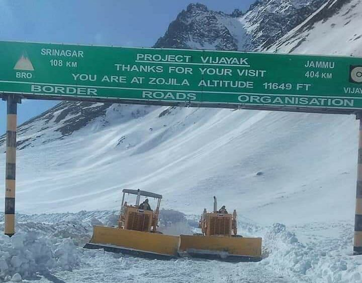 Srinagar-Leh highway cleared for vehicular traffic after around four months