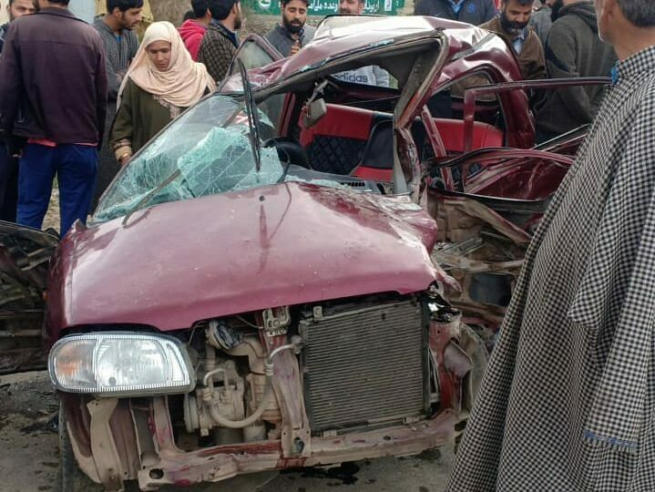 Three killed, five others injured in separate road accidents in J&K