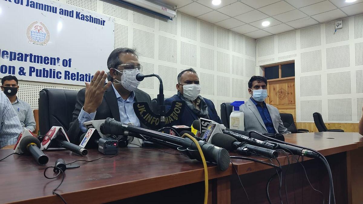 No shortage of oxygen, Remdesivir, COVID vaccine in J&K: Advisor Baseer Khan