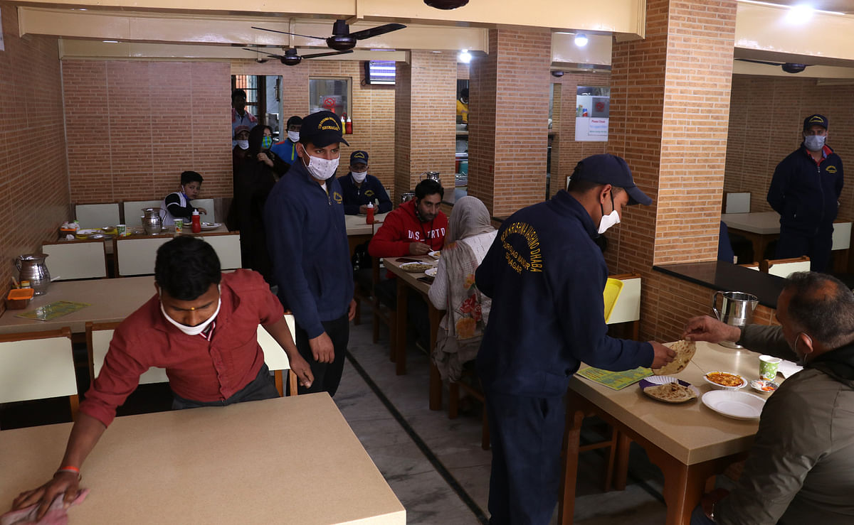 Krishna Dhaba reopens after 2 months