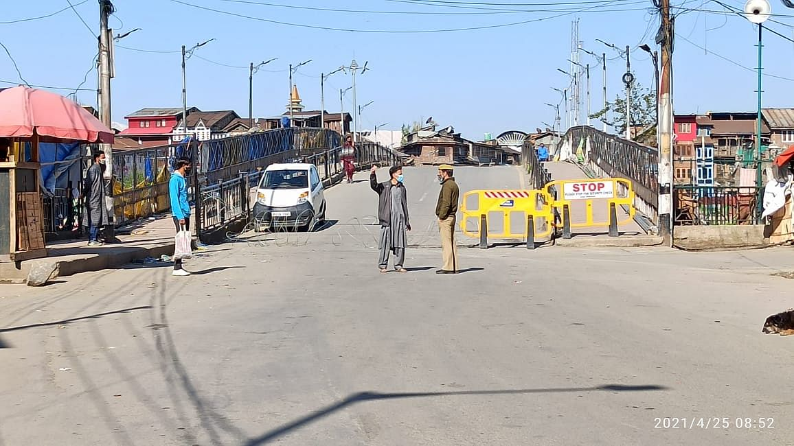 COVID-19 surge: Restrictions in place across Kashmir Valley