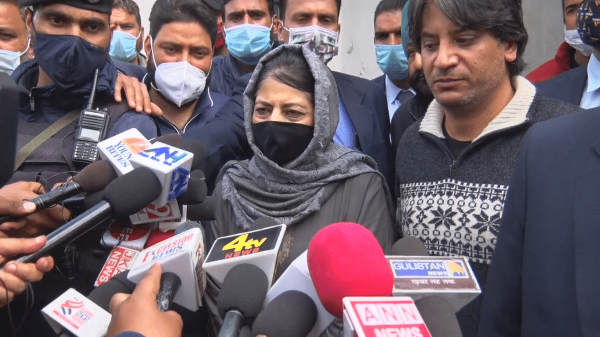 Didn't leave when we made them ministers: Mehbooba takes dig at leaders quitting PDP