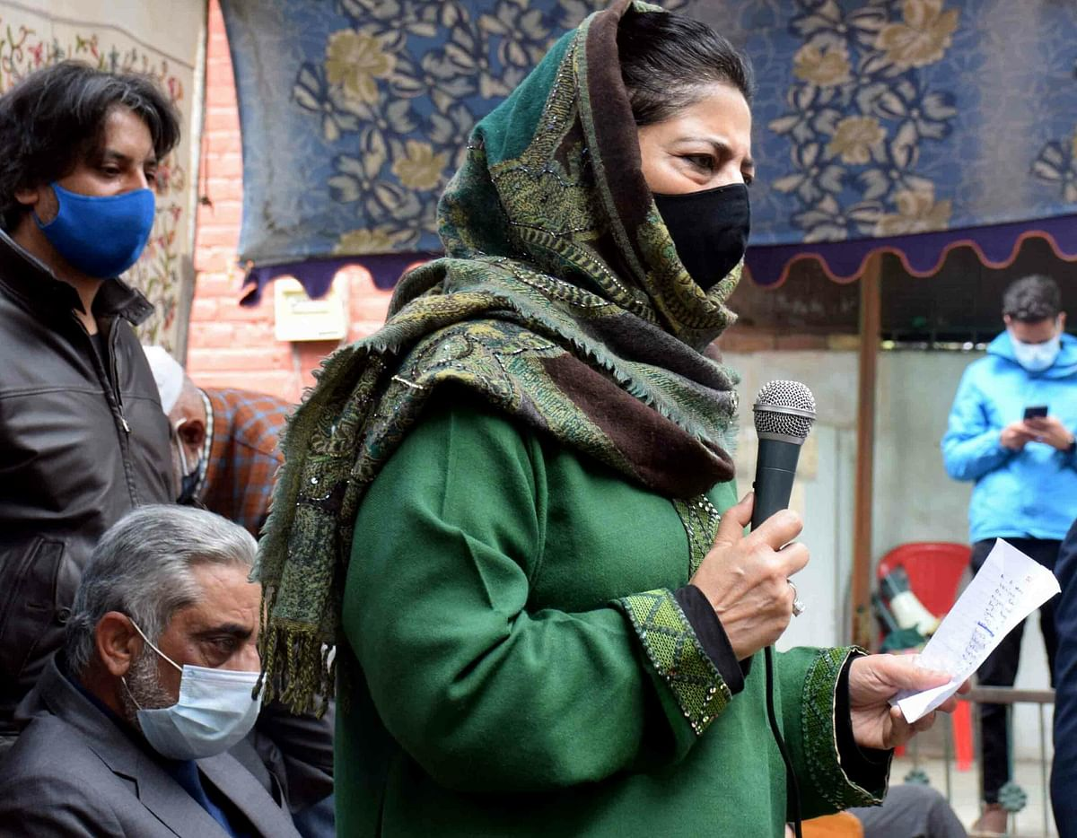 Stay away from gun culture, follow democratic means: Mehbooba to Kashmir youth