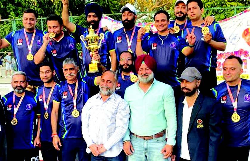 58th National Roller Skating Championship | J&K Masters Roller Hockey Team clinches gold medal