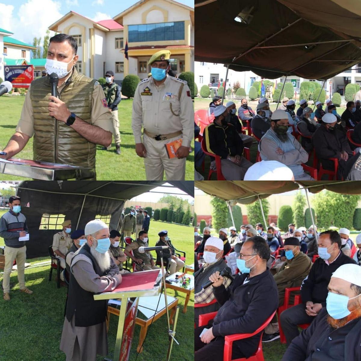 Police Public meeting held at DPL Bandipora