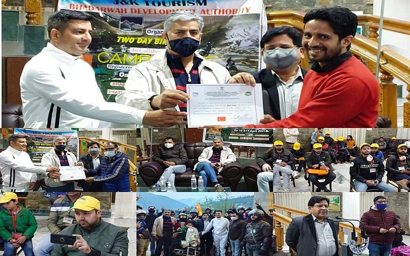 Promoting adventure tourism   2-day bike rally concludes at Bhaderwah